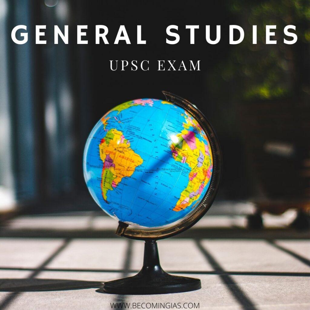 general studies upsc exam