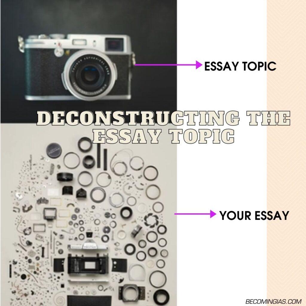 deconstruction essay upsc