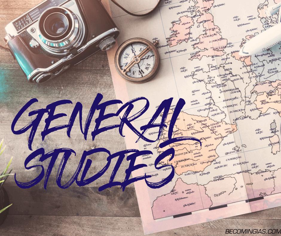 ncert and general studies